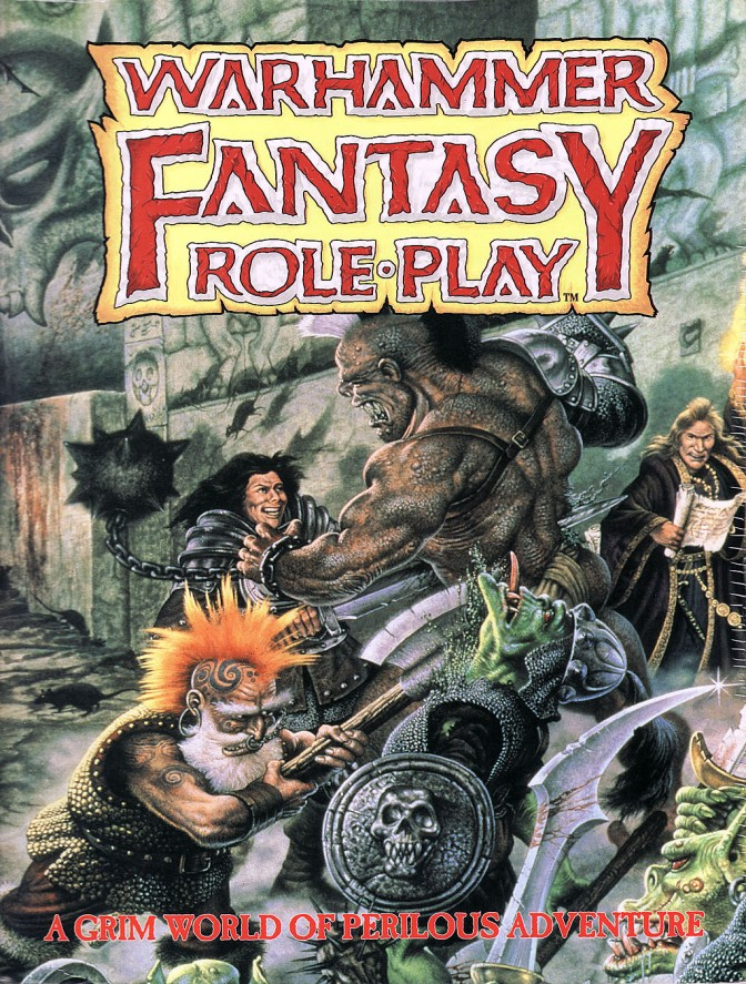Warhammer Fantasy Role-Play – 4th Edition! (It's not quite out yet, but let's froth, keenly)