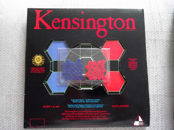 Kensington: The Abstract Game That Time Forgot.