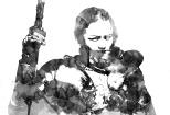 Fantasy RPG Pulp Adventure Hero Knight Cavalry D&D