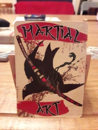 martial art Japan card game war game feudal Japanese battlefield spider-goat games