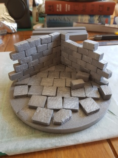 TABLETOP WAR-GAME TERRAIN & SCENERY: Part two, the basic steps |