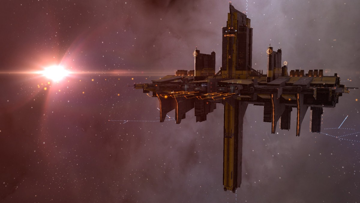 Eve Online Will Not Beat Me - We Moved To A Wormhole.