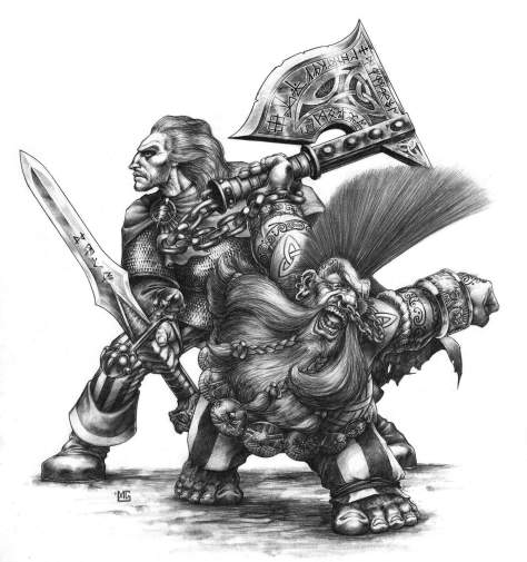 Gotrek Gurnison Felix Jaeger troll salay beast slayer everything slayer