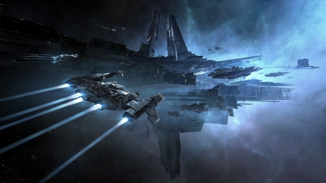 Eve online base astrahus citadel corp wormhole beginner new