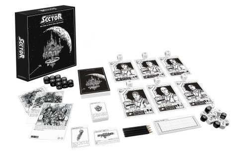 sci-fi science fiction sciencefiction themeborne escape alien starwars startrek star wars gothic punk dark tabletop game