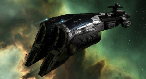 Eve fleet rolling bait megathron battleshi
