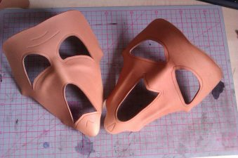 leather crafting work LARP artisan masquerade armour