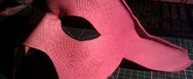 leather crafting work LARP artisan masquerade armour