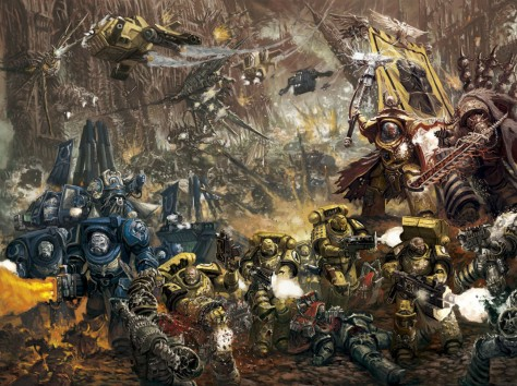 warhammer 40,000 apocalypse tabletop war game Games Workshop