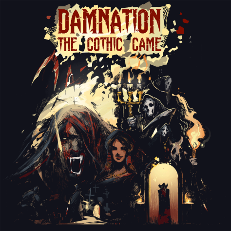 damnation the gothic game horror Dracula fury dark castle creator consortium murder adversarial terror hellish anca albu hue teo